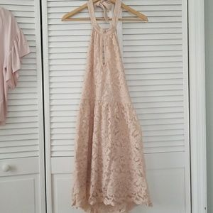 Forever 21 Pastel Pink Lace Dress
